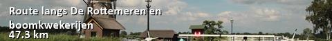 Route langs De Rottemeren en boomkwekerijen