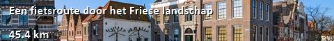 Een fietsroute door het Friese landschap