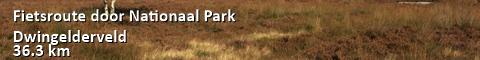 Fietsroute door Nationaal Park Dwingelderveld