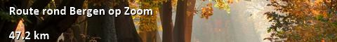 Route rond Bergen op Zoom