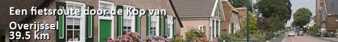 Een fietsroute door de Kop van Overijssel